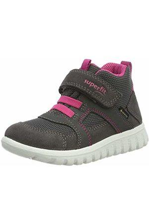 Superfit Girls' Sport7 Mini Low-Top Sneakers, ((Grau/Rosa 21)