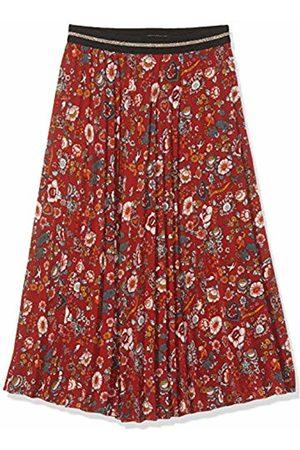 IKKS Girl's Jupe Longue Plissee Imprimee Fleurs Skirt