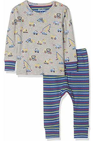 Hatley Baby Boys' Mini Organic Cotton Long Sleeve Pyjama Sets (Crayon Construction 020)