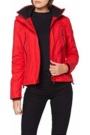 Superdry Women's Velocity Arctic Windcheater Jacket, (Burnt Am)