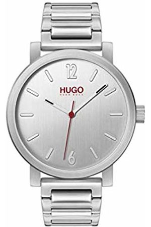 HUGO BOSS Unisex-Adult Analogue Quartz Watch with Stainless Steel Strap 1530117