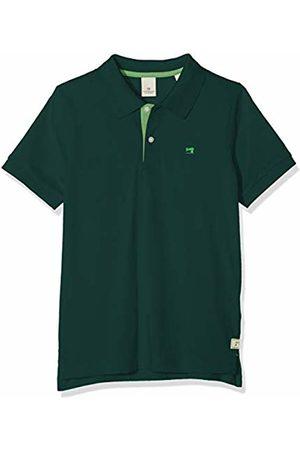 Scotch&Soda Boy's Short Sleeve Pique Polo with Contrast Details Shirt