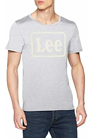 Lee Men's Box Logo TEE' T-Shirt, (Sharp Mele 03)
