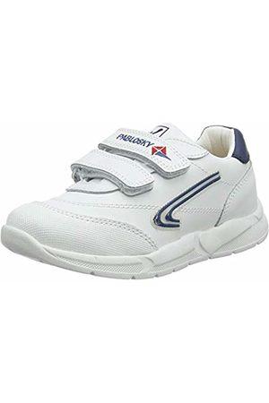 Pablosky Unisex Kids' 278102 Low-Top Sneakers, Blanco