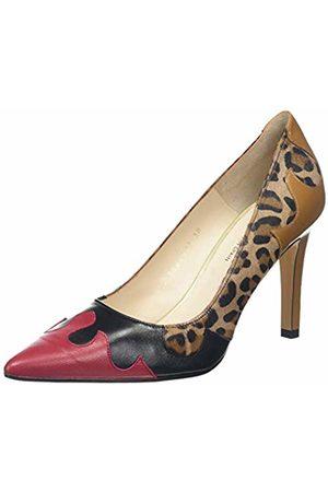 Lodi Women's Rol-ino Closed Toe Heels, Glove Cherry
