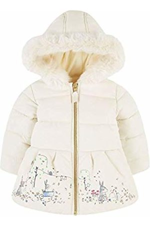 Mothercare Unisex Baby SR FLOW PADDED BORDER PRINT CREAM (FLEECE LINED) Bodysuit