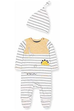 Mothercare Baby NB AD Stripe AIO and HAT