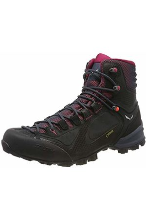 Salewa WS Alpenviolet Mid Gtx, Women's High Rise Hiking High Rise Hiking Boots, Blau (Ombre /Fluo Coral 3848)