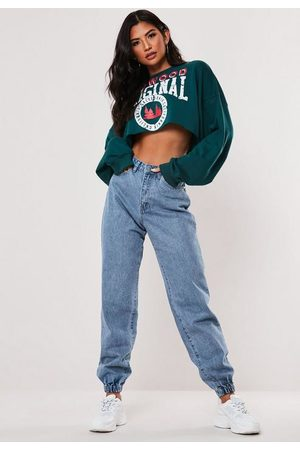 Missguided High Waisted Jogger Mom Jeans