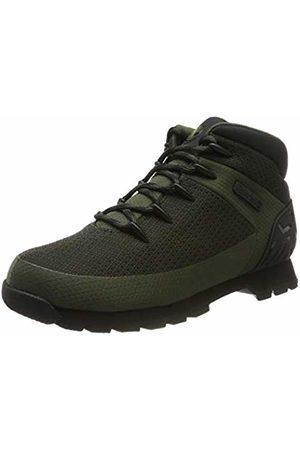 Timberland Men's Euro Sprint Fabric Waterproof Hiker Boots, (Dark Knit)