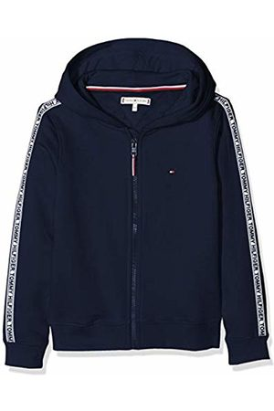 Tommy Hilfiger Girl's Essential Tommy Tape Zip Through Cardigan