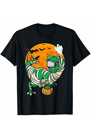 Parabolic Halloween Golfer Mummy T Rex Dinosaur Halloween Costume Golfing Golf T-Shirt