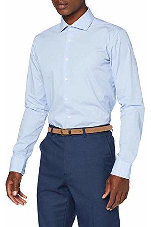 Seidensticker Men's X-Slim Fit Langarm mit Spread Kent-Kragen Bügelleicht Gepunktet-100% Baumwolle Formal Shirt