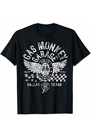 Gas Monkey Garage Speed And Power Finish Line T-Shirt