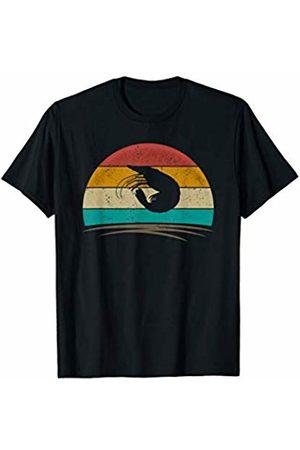 Wowsome! Vintage Shrimp Retro Vintage 70s Distressed Shrimp Men Women T-Shirt