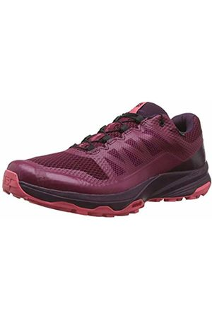 Salomon Women's Trail Running Shoes, XA Discovery GTX W, Beet Red/Potent Purple/Calypso Coral
