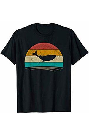 Wowsome! Women T-shirts - Vintage Whale Retro Vintage 70s Distressed Animal Men Women T-Shirt