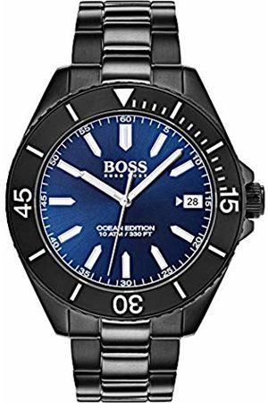 HUGO BOSS Unisex-Adult Analogue Classic Quartz Watch with Stainless Steel Strap 1513559