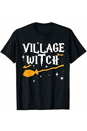 Miftees Village Witch funny Halloween Witch Costume T-Shirt