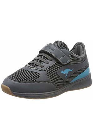 KangaROOS Unisex Kids' Sprint Ev Multisport Indoor Shoes, ((Steel /Turquoise 2106)