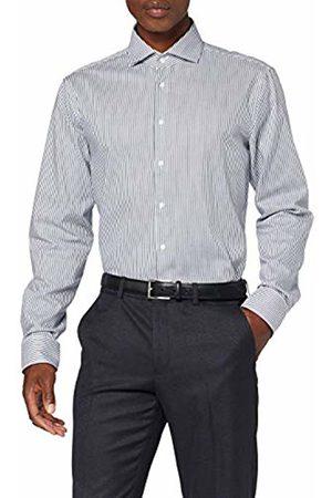 Seidensticker Men's Tailored Fit Langarm mit Spread Kent-Kragen Bügelleicht-Seasonal-100% Baumwolle Formal Shirt