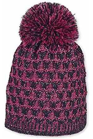 Sterntaler Baby Girls Bonnet Tricoté Pour Deux Couleurs Avec Pompon, Âge: 12-18 Mois, Taille: 49 cm, Bleu Marine Beanie, 300