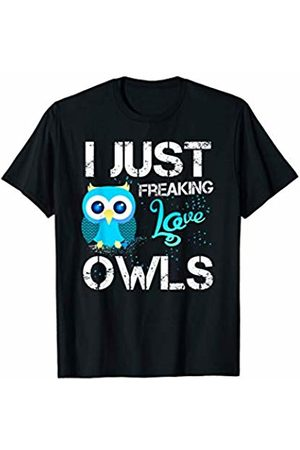 LVGTeam I Just Freaking Love Owls T-Shirt