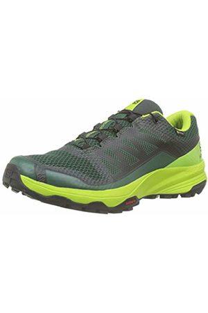 Salomon Men's Trail Running Shoes, XA Discovery GTX, Trekking /Lime /Black