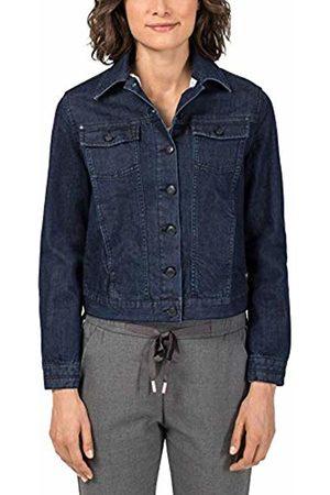 Timezone Women's Denim Jacket, (Night Brushed Wash 3425)