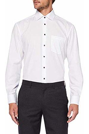 Seidensticker Men's Comfort Langarm mit Business Kent-Kragen Bgelfrei Uni-100% Baumwolle Formal Shirt