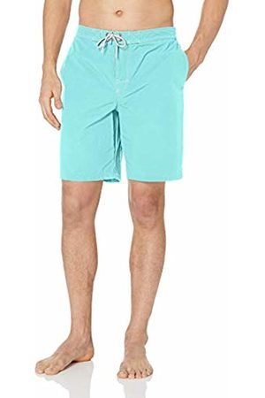 "28 Palms Men Shorts - 9"" Inseam Board Short Aqua"