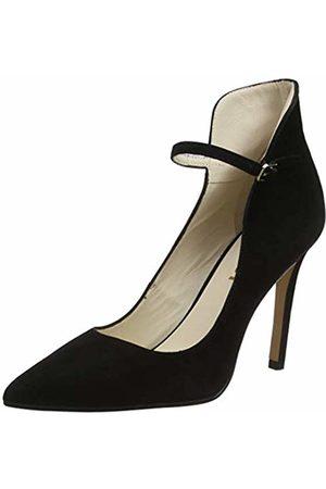 Lodi Women's Vivaz Ankle Strap Heels, Ante Negro