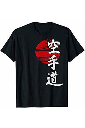 T-ShirtManiak T-Shirt Karate Sun Kangi Kimono Japan Style GYM Martial Arts