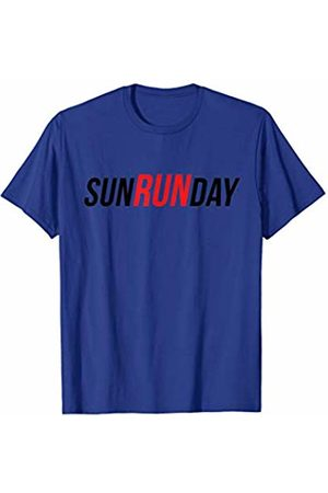 DeesPrints Marathon Running Sunday is Run Day Running T-Shirt