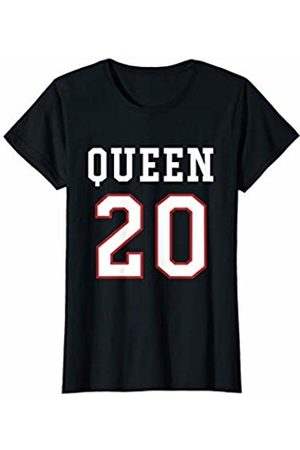 Havous Womens 20th Birthday Gift Queen 20 Year Old T-Shirt
