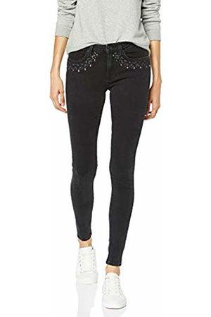 Garcia Damen Skinny Jeans Gs900725 Schwarz (Dark Used 5470) 34 (Herstellergröße: 26)