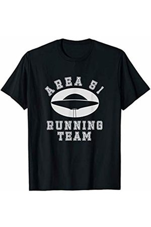 Noodle Bean Apparel Area 51 Running Team - Funny Storm Area 51 UFO T-Shirt