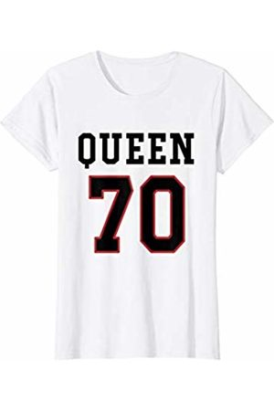 Havous Womens 70th Birthday Gift Queen 70 Year Old T-Shirt