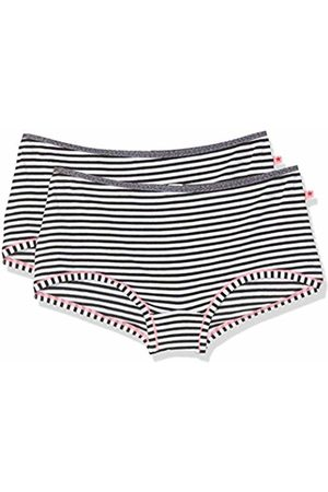 Esprit Girl's Sporty Stripe Yg 2 Hotpants Knickers, ( 100)