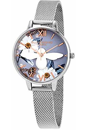 Olivia Burton Womens Analogue Quartz Watch with Stainless Steel Strap OB16BF18