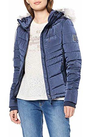 Superdry Women's Luxe Fuji Jacket, (Baltic Ml9)