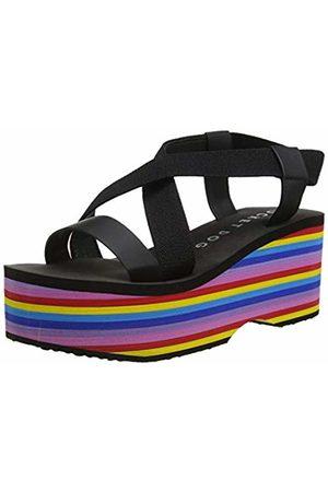 Rocket Dog Women's Lil Smooth PU/Gore Wedge Sandals, ( /Rainbow M)