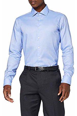 Seidensticker Men's X-Slim Fit Langarm Mit Business Kent-Kragen Bügelfrei Struktur-100% Baumwolle Formal Shirt