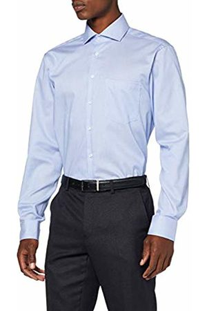 Seidensticker Men's Modern Fit Langarm mit Spread Kent-Kragen Bügelleicht Gestreift-Seasonal-100% Baumwolle Formal Shirt, ( 13)