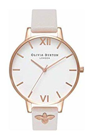 Olivia Burton Womens Analogue Japanese Quartz Watch with Leather Strap OB16ES02