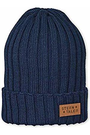Sterntaler Boy's Bonnet Pour En Tricot À Rayures, Marine, Âge: 4-7 Ans, Taille: 53 cm, Bleu Beanie, 300