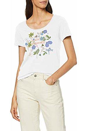 Esprit Women's 089ee1k025 T-Shirt, ( 110)