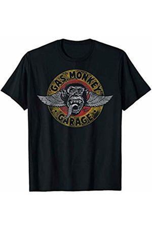 Gas Monkey Garage Winged Circle Logo T-Shirt