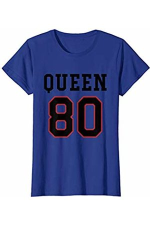 Havous Womens 80th Birthday Gift Queen 80 Year Old T-Shirt