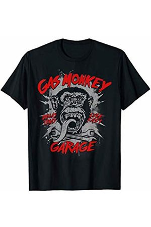 Gas Monkey Garage Bold Splatter Logo T-Shirt